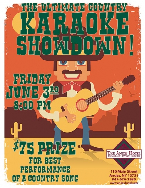 Country karaoke fest