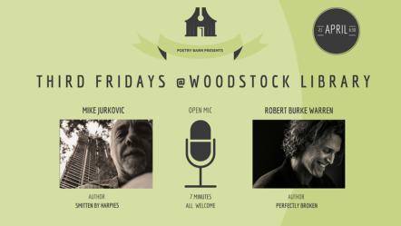 Poetry Barn Presents Robert Burke Warren & Mike Jurkovic