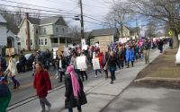 Women's March on Woodstock