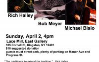 The Lace Mill presents : Rich Halley/Bob Meyer/Michael Bisio